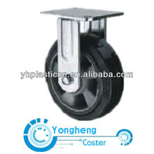 mold on elastic rubber heavy duty fix caster