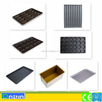 deck oven used Bakery Trays/ Aluminum/ Stainless steel Perforated Non-stick Baking Trays