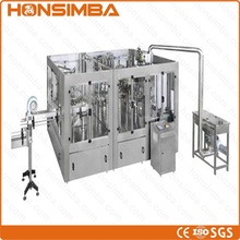 High speed 3 in 1 5L cottonseed oil filling complete line