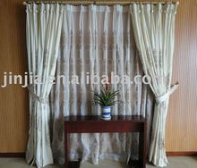 Curtain Textile Factory price Customized lace window curtains drapery