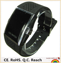 fashion silicone wristband touch screen hand watch