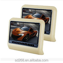 car multimedia system 9 inch headrest dvd player