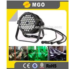 china supplier led stage light 54pcs 3w par light