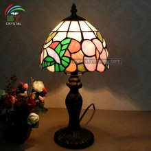 flower pattern tiffany lamp