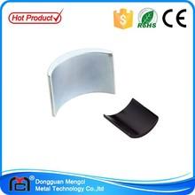 Permanent neodymium motor magnet