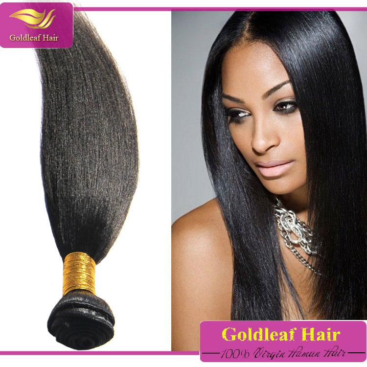 Competitive Price Coarse Light Yaki Texture Hair Perm Yaki Human