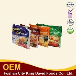 4 flavors 85g bag ramen noodle hot sale beef/shrimp/vegetable/chicken flavor
