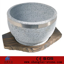 korean boiled chafing dish soup bowl, korean stone bowl