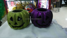 promotional ghost face Halloween pumpkin for decoration