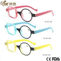 Round Square Frame Vintage Reading Glasses funny reading eye glasses