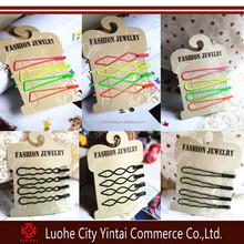 7cm Fashion plain Hairpins for Hair