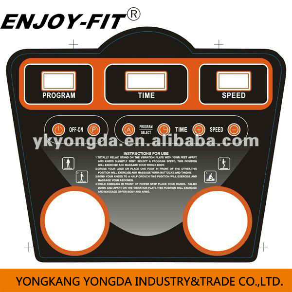 FITNESS EQUIPMENT CRAZY FIT MASSAGE WITH MP3 VIBRATION PLATE crazy fit massage vibration machine