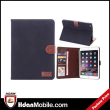 hot new product for 2015 vintage leather case for ipad mini 3 cover case with high quality, for ipad mini luxury case
