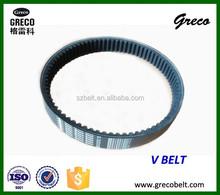 Fold edge variable speed v belt