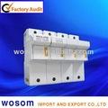 Ws18-125 125a titular de fusible fusible 22x58 gg 63a la base cilíndrica 690v ca