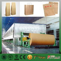 widely used corrugated paper kraft paper manufacturing machine price