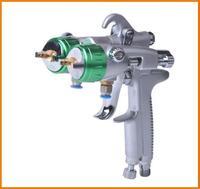 2015 zejiang delicate nano plating double nozzle spray guns