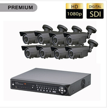 Benyuan vision 16 Channel HD SDI Security System with 3TB HDD and 8 HD 1080p Cameras
