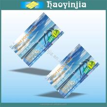 customed design fashion design paper card wholesale