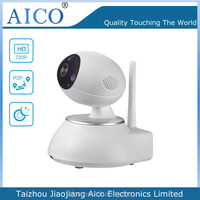cn AICO new products for teenagers white wifi hd p2p 360 wireless toy bluetooth web camera for pc