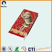 premium Santa vintage safety matches