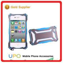 [UPO] Armor Iron Man Robot Combo Hybrid Cover Phone Cases For iPhone 5