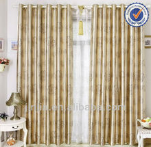 MT 4581 new design yarn dyed curtain fabric rideaux curtain drapery
