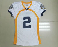 100%polyester sublimation cool dry football jersey