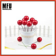 MFU Wholesale Christmas artificial red fruits/ christmas hanging decoration
