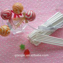 blanco de papel de caramelo hilo palos