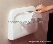 1/2 fold Eco-friendly flushable disposable toilet seat cover paper