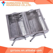 2015 Popular design picnic stainless grill folding