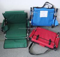 Outdoor stadium chair/heavy duty stadium seat with armrest
