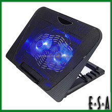 2015 Hot sale unique cooling pad,Height Adjustable Portable Laptop Desk Cooler,Double fans adjustable usb laptop cooler G22A124
