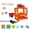 QTJ4-40 manual concrete hollow block machine supplier hand operated cement interlocking brick making machine factory price