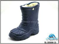 Warm Fur Inside Waterproof EVA Injection Boots Kids Women Size