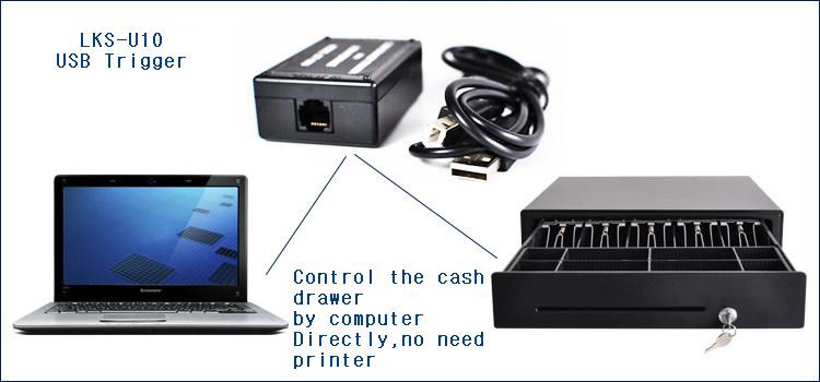 Automatic Payment Machine Metal Clip Cash Drawer Cashier Equipment