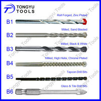 Tungsten Carbide Tipped Concrete Drill Bit for Masonry drilling