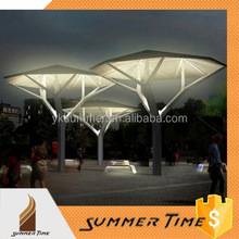 The light tree metal sculpture for urban decoration