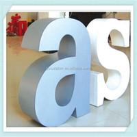 Green 2015 hot sale high quality white foam pvc sign sheet