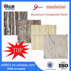 Building Materials Marble Wall Paneling Aluminum Composite Panel
