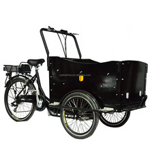 Hot selling front cargo bike triciclo