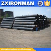 zhongxing 12 inch schedule 80 astm a106 black seamless steel pipe
