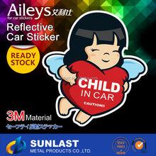 Sunlast Ready Stock soft PVC Window/Car Sticker Vinyl sticker FG818