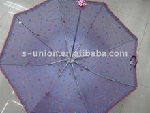 Newest high quality nice foldable outdoor lady rain umbrella