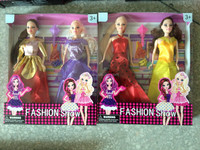 The new design fashion sex barbie dolls/plastic barbie dolls/pretty barbie dolls made in China with beautiful dress