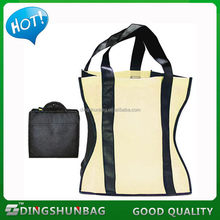 Bottom price hot selling flower printing foldable shopping bag