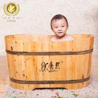 Bathroom accessories of wooden baby shower bathtub,kx-09
