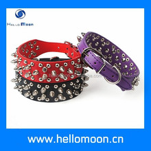 Factory Supply Attractive Price Best Quality Spiked Leather Dog Collars
