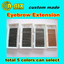 best quality extension lash false mink eyebrow extensions